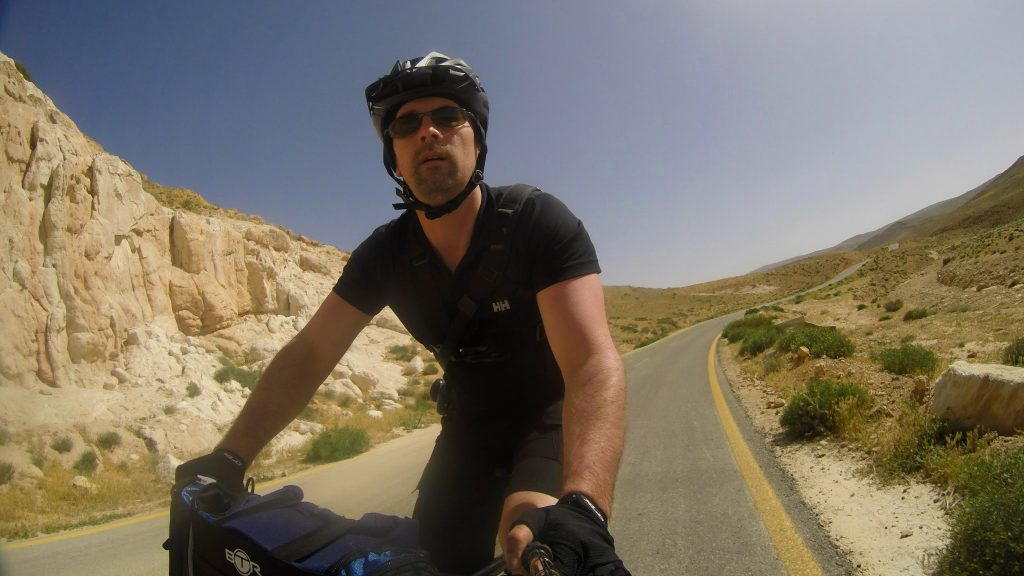 cycle touring jordan desert