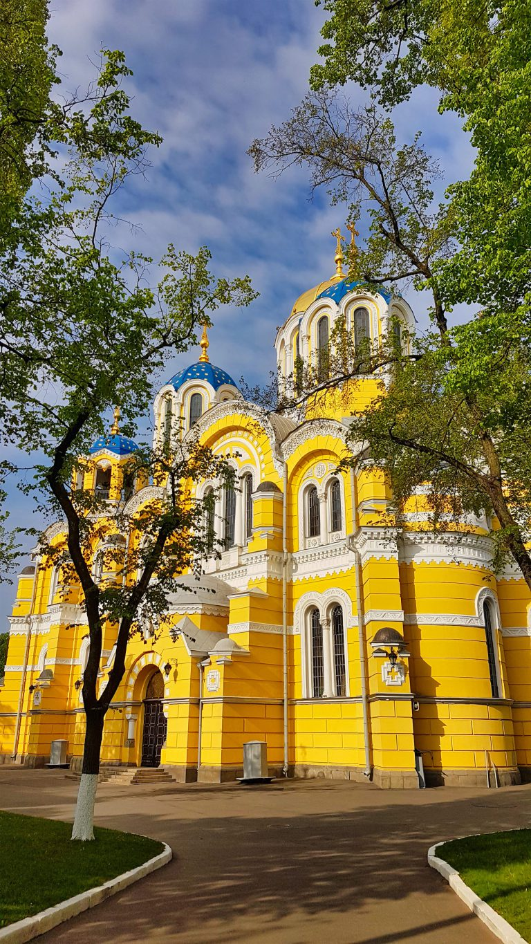 st volodymyrs cathedral kiev image
