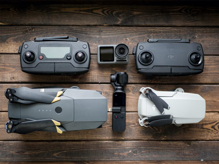 mavic mini size compared pro