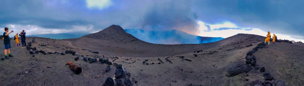 yasur volcano tanna vanuatu crater panorama guided tour