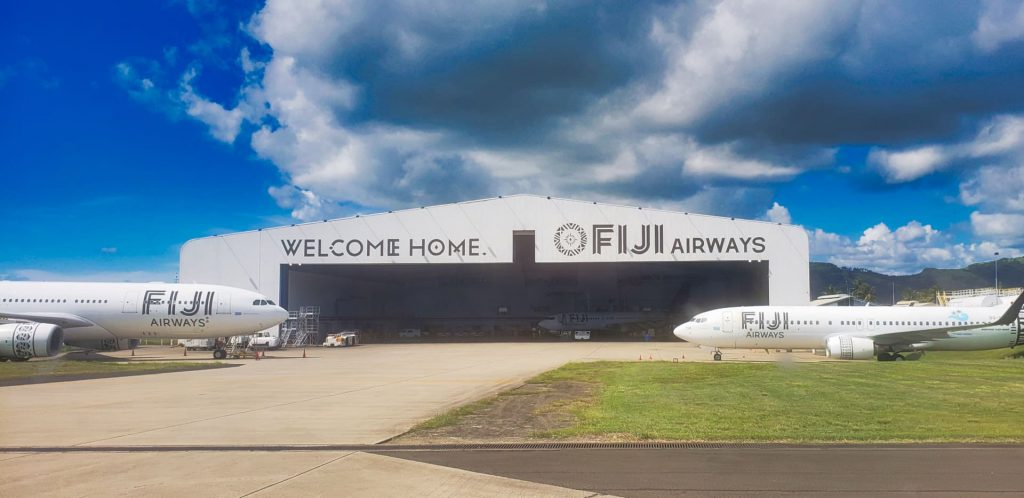 fiji airways hangar nadi airport