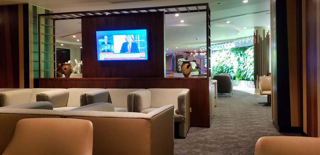 fiji airways premier lounge nadi airport seating area