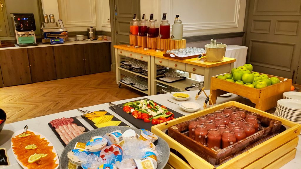 Doubletree Harrogate Majestic Hotel Breakfast Buffet Fruit