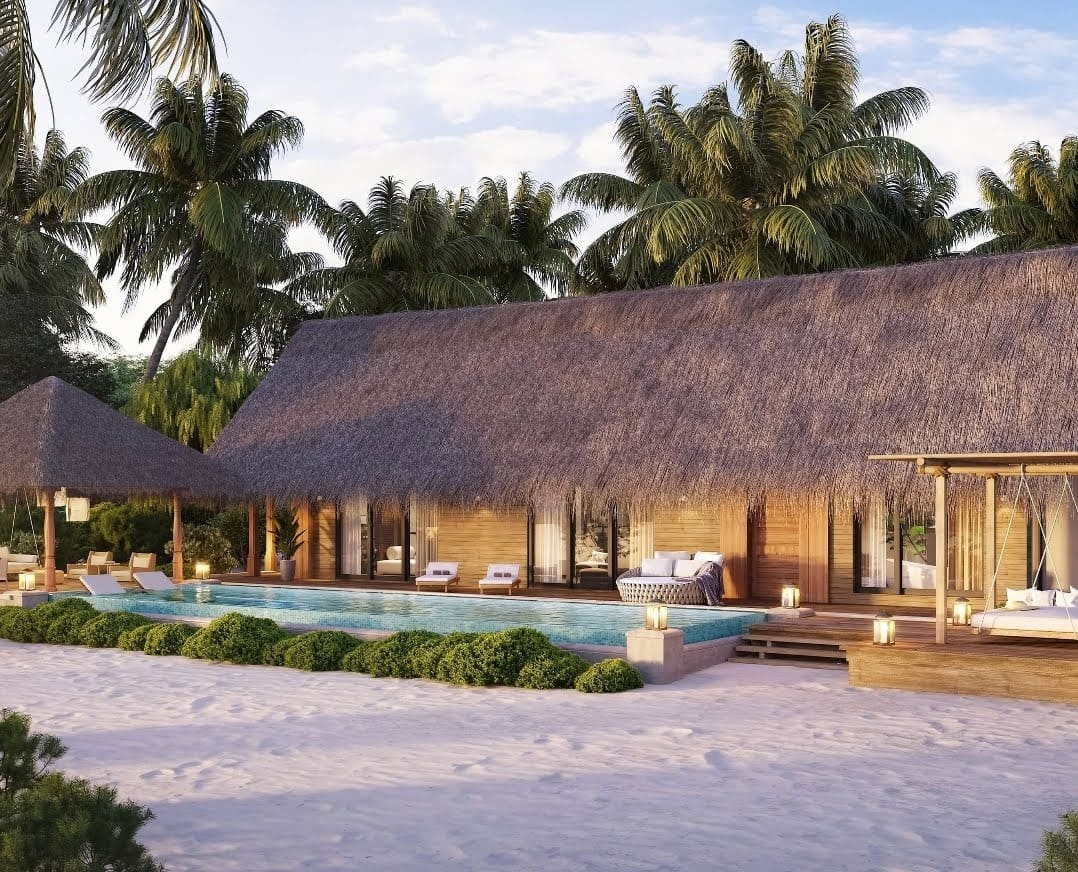 Hilton Buy Points Waldorf Astoria Maldives Ithaafushi Villa