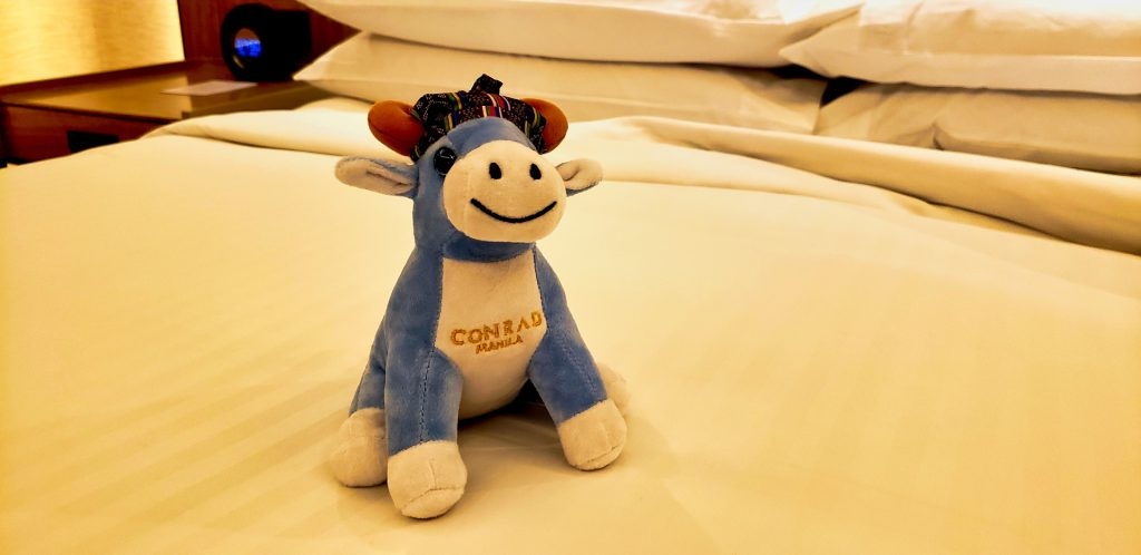 Conrad Manila Suite Welcome Gift Conrad Cow