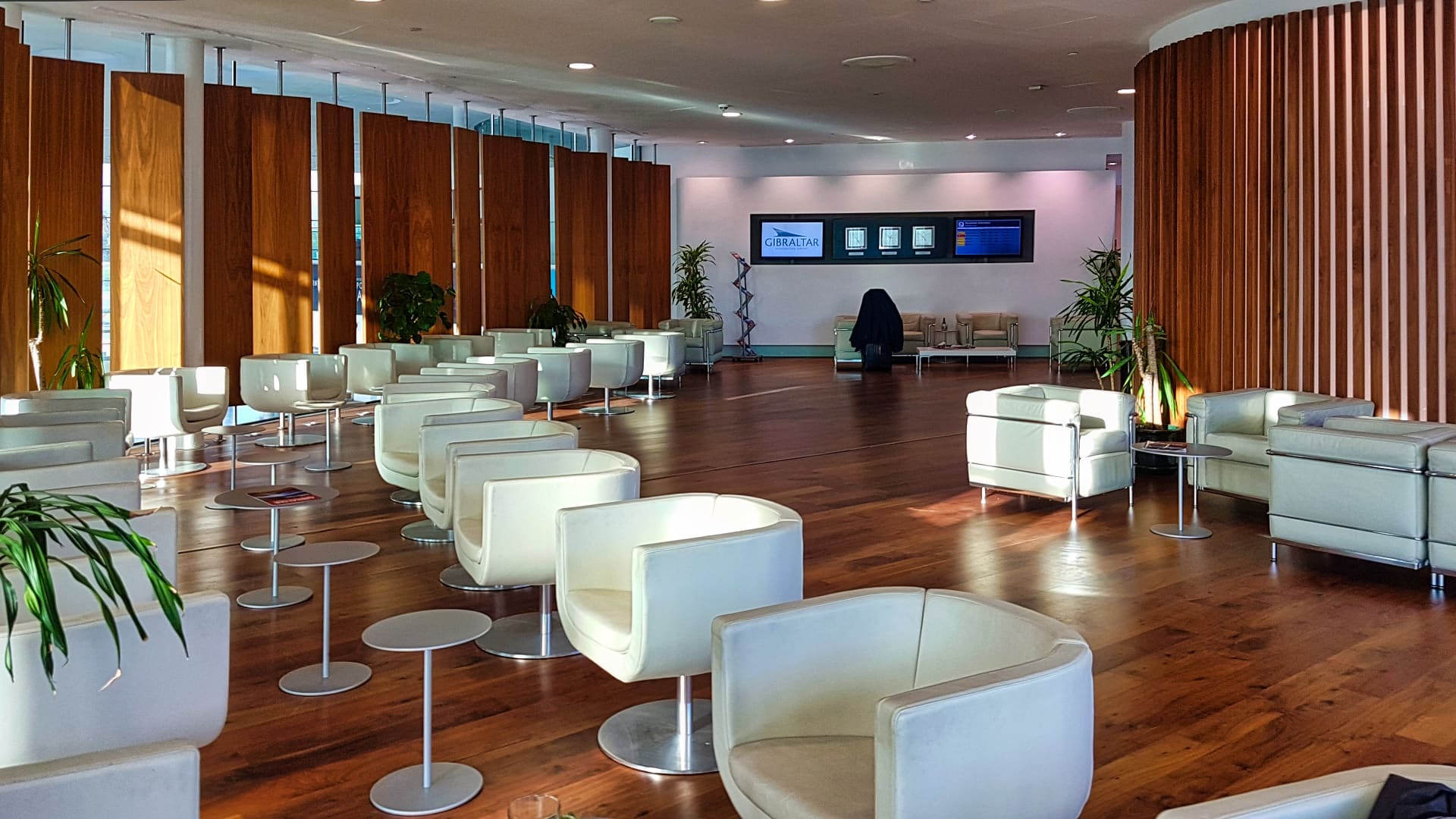 Priority Pass discount - Calpe Lounge Gibraltar seating area