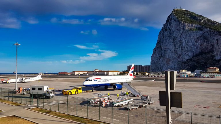 Priority Pass Calpe Lounge Gibraltar view BA