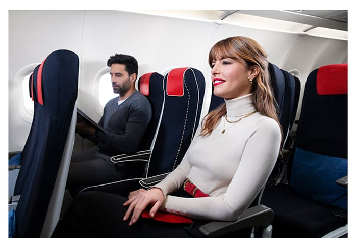 Air France Domestic Business Class Seats