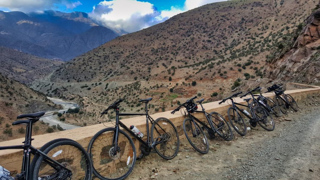 Cycle Morocco bikes in the High Atlas