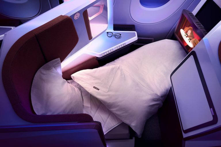 Virgin Atlantic Flying Club - Upper Class Bed