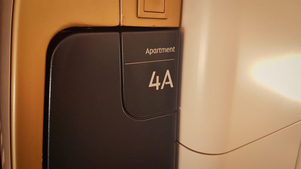 Etihad Apartment First Class Apartment 4A Sign