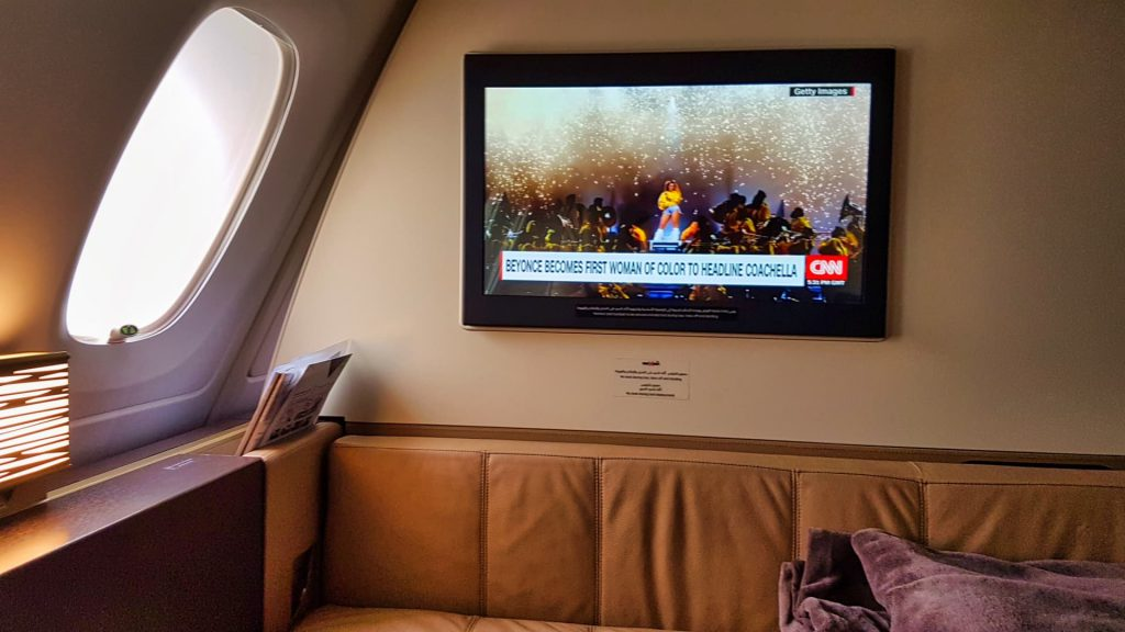 Etihad First Class Apartment Live TV