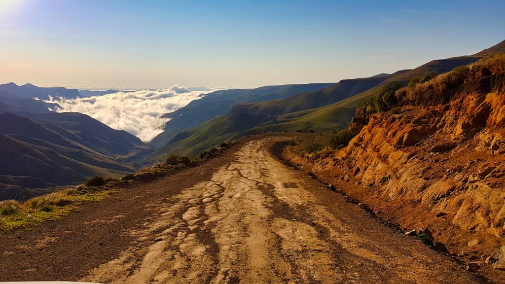 Sani Pass Above the clouds