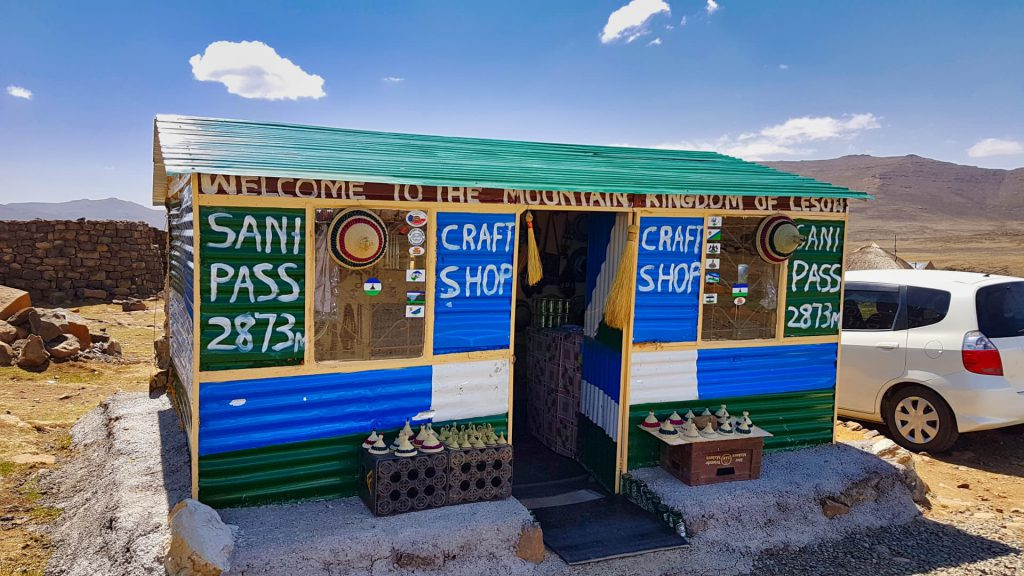 Sani Pass Craft shop
