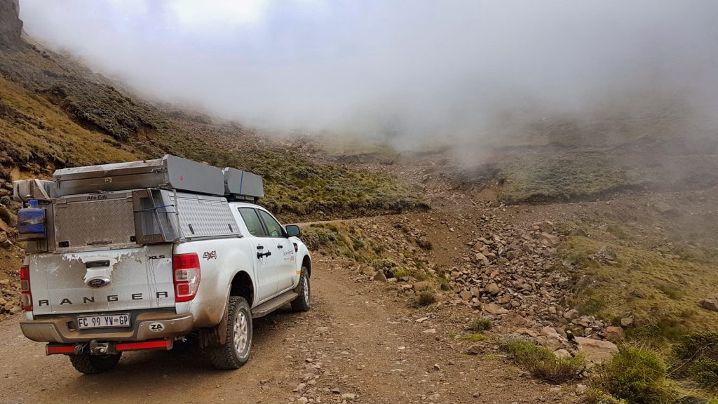 Sani Pass Into the clouds