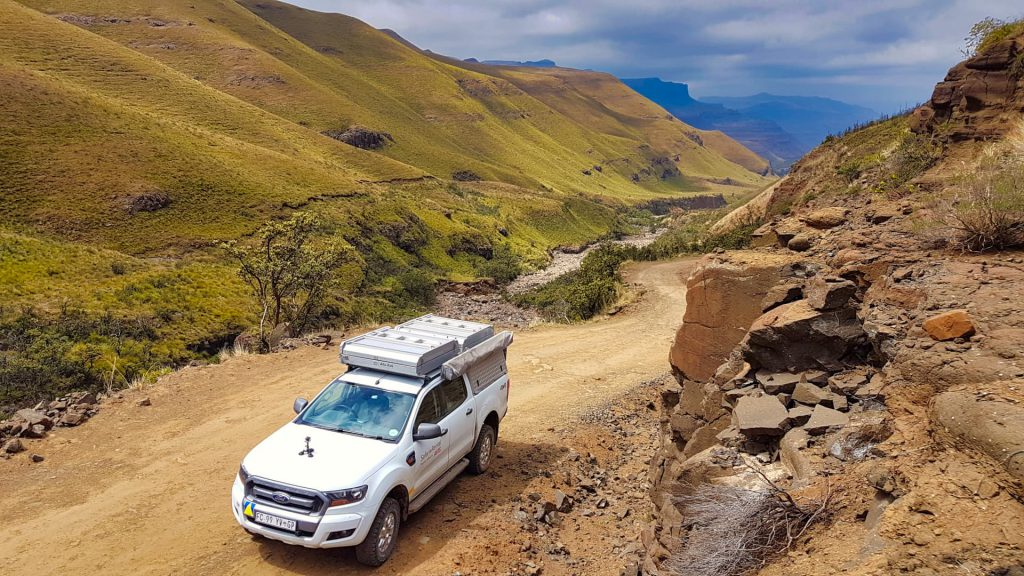 Sani Pass Lower route