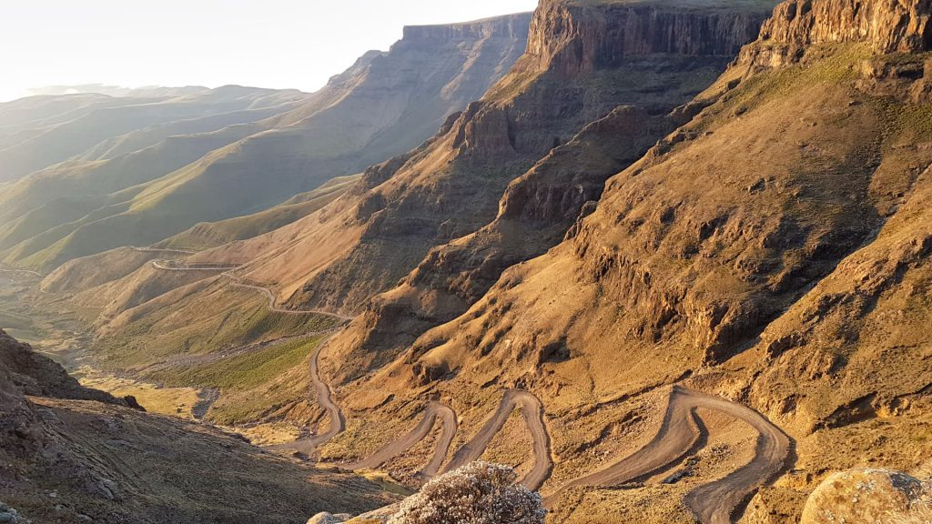 Sani Pass View from Sani Top