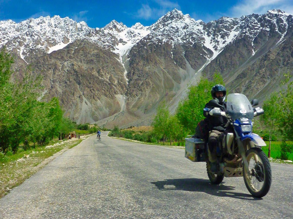 Pamir Highway Mountains