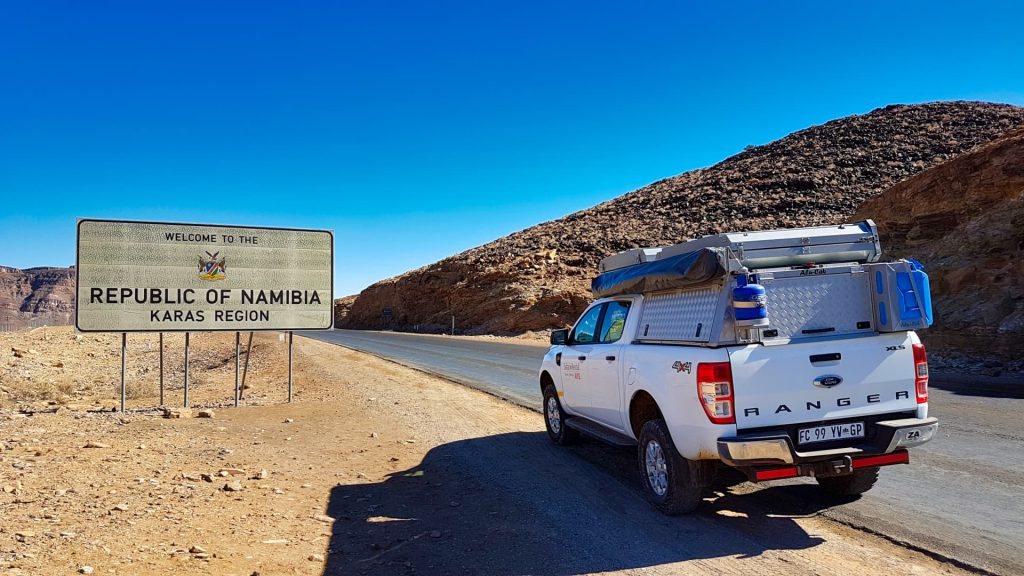 Namibia Self Drive Border Crossing
