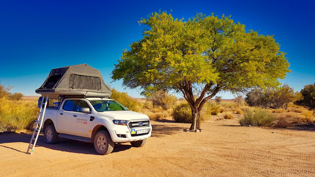 Namibia Self Drive Safari Camper at Canyon Roadhouse