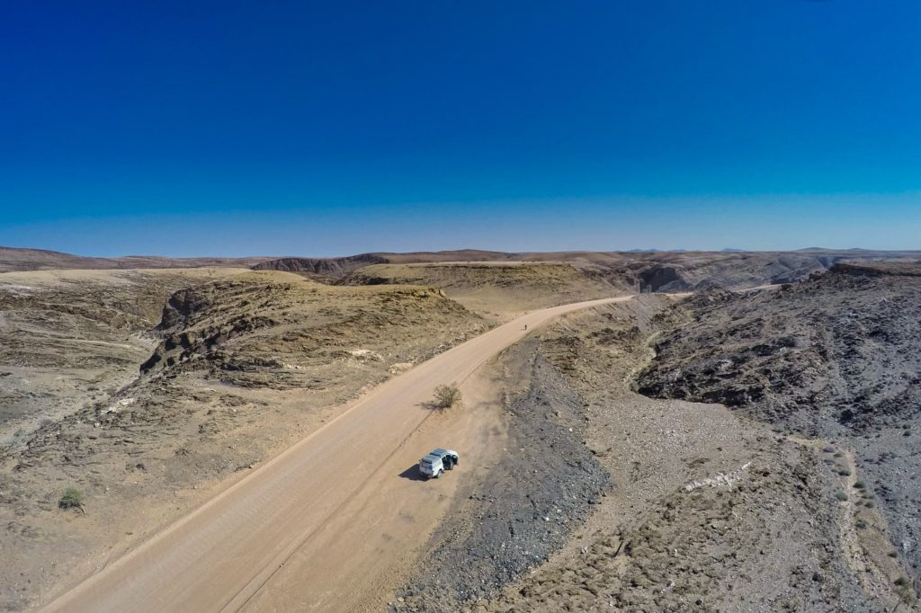 Self Drive Namibia Aerial View