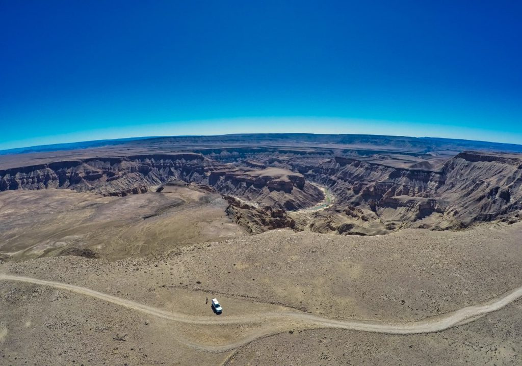 Self Drive Namibia Fish River Canyon Aerial View