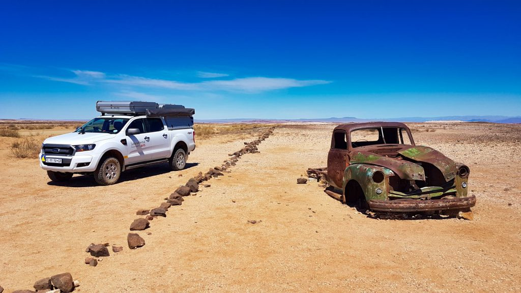 Self Drive Namibia Fish River Canyon Wreck