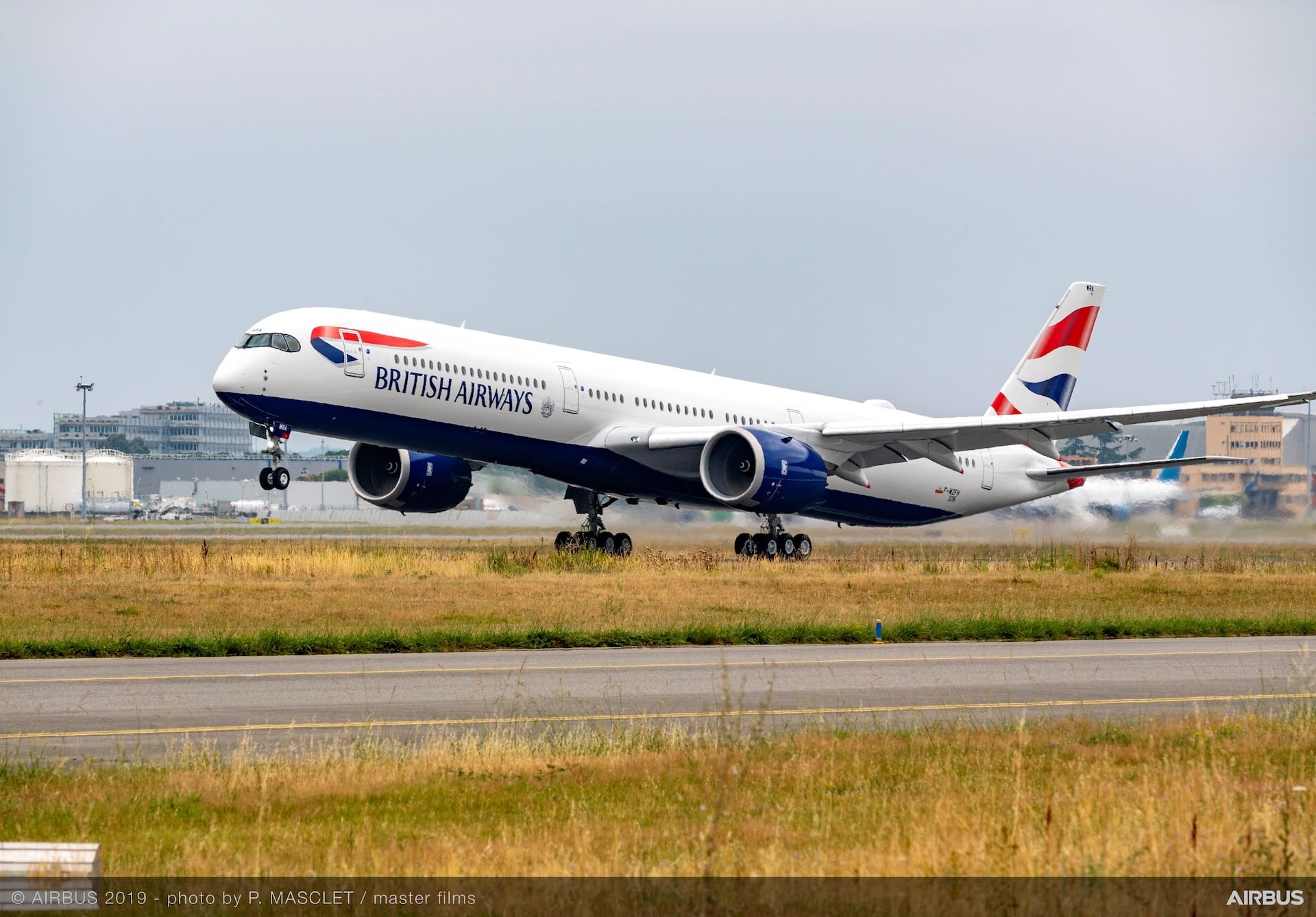 BA British Airways Airbus