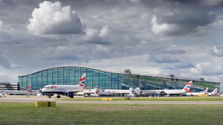 Heathrow Airport Terminal Building Exterior