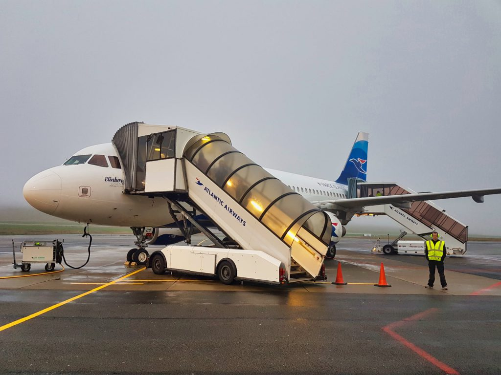 Faroe Islands Atlantic Airways Vagar Airport