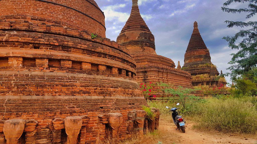 Temples of Bagan electric scooter rental