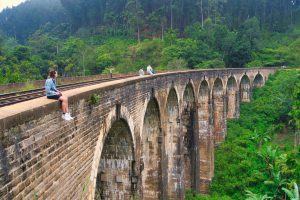 9 Arch Bridge sitting on the edge