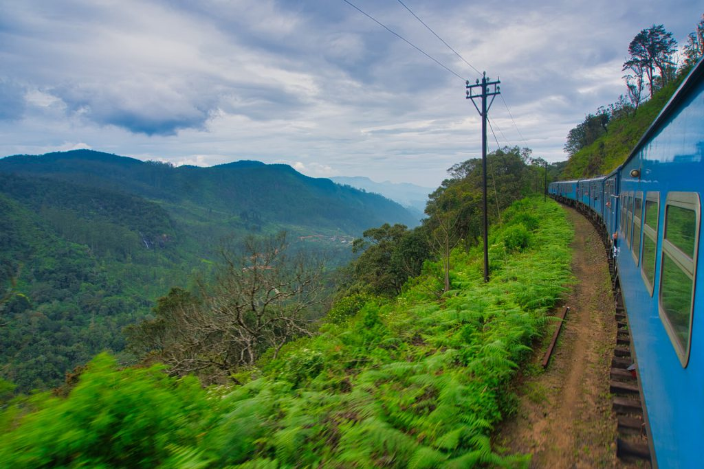 Kandy Ella Train Scenic view