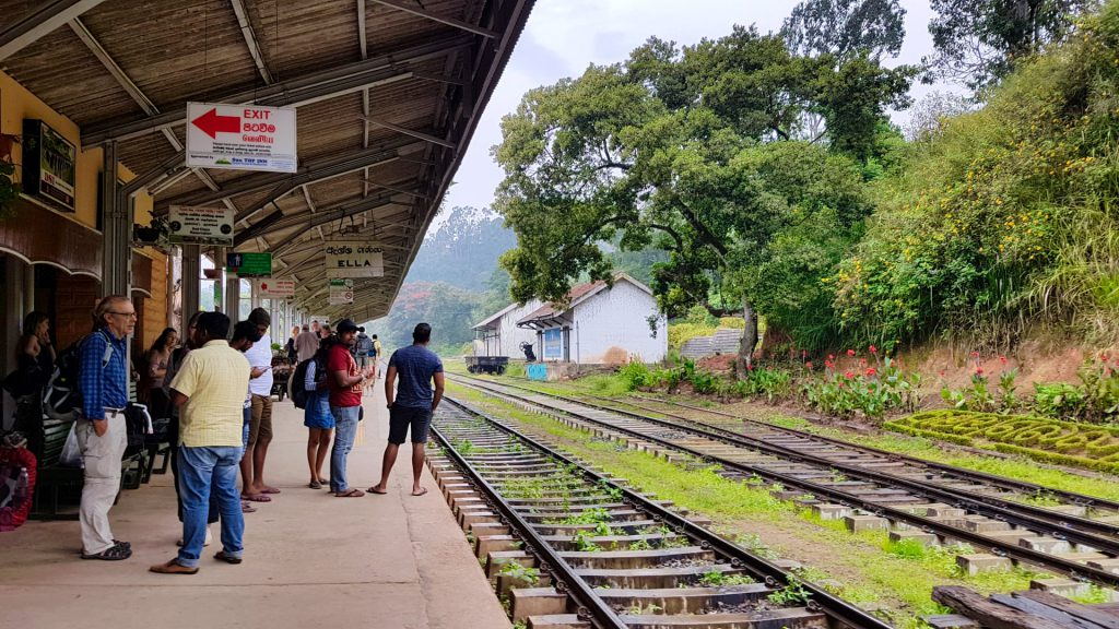 Kandy Ella Train Ella Badulla Train Station
