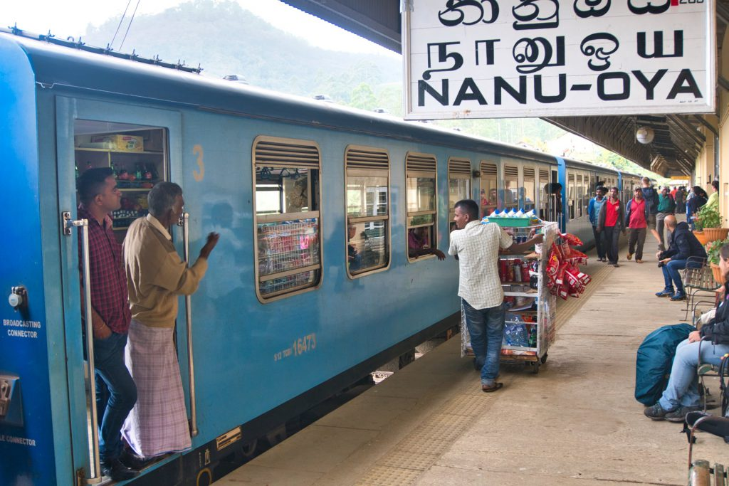 Kandy Ella Train Nanu Oya Station