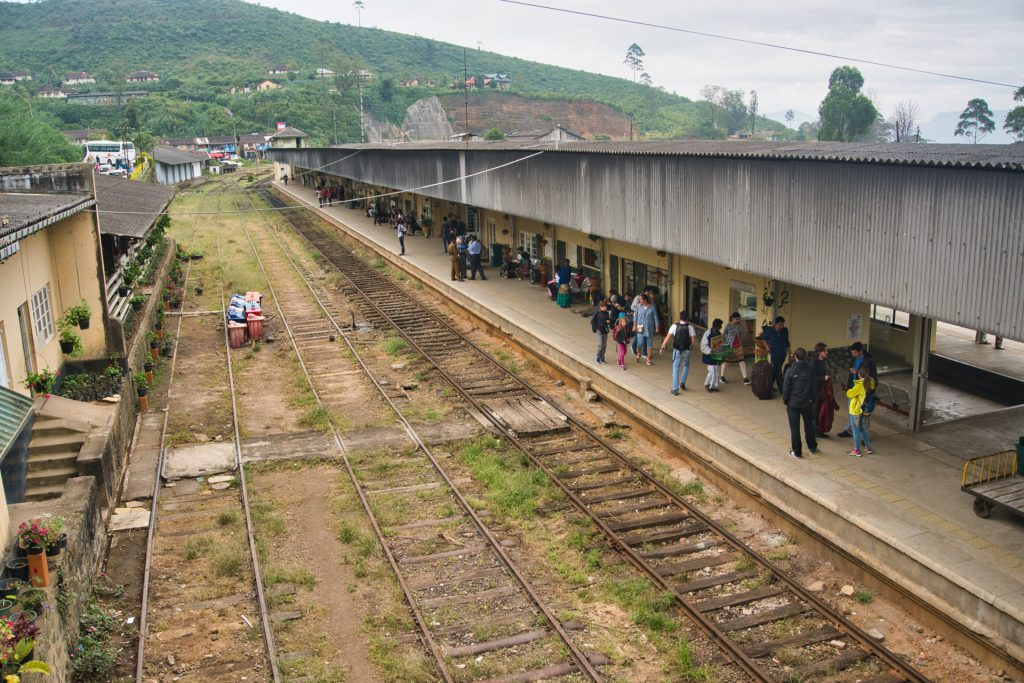 Nanu Oya Train Station Sri Lanka
